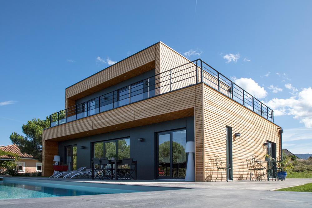 constructeur maisons à ossature bois - Drôme